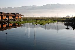 Inle Lake - source - Wikimedia Commons