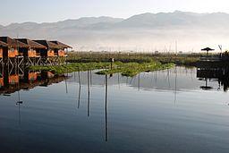 Inle Lake - source - Wikimedia Commons
